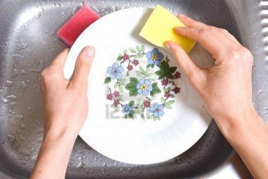Уход за посудой из фарфора