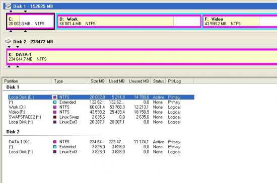Как сделать жёсткий диск ntfs 632