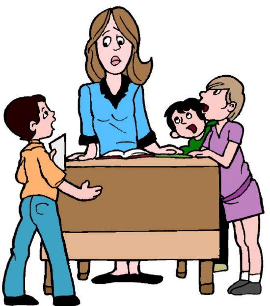 Картинка воспитателя в школе