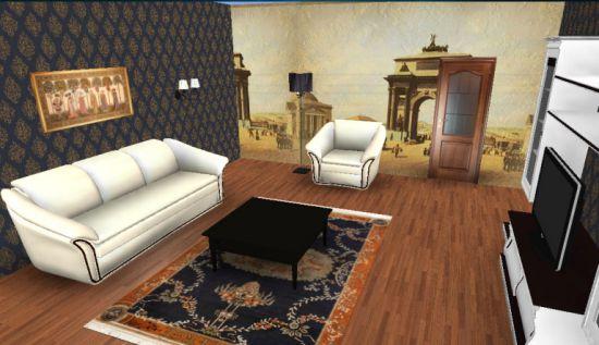 Как сделать перестановку в большой комнате
