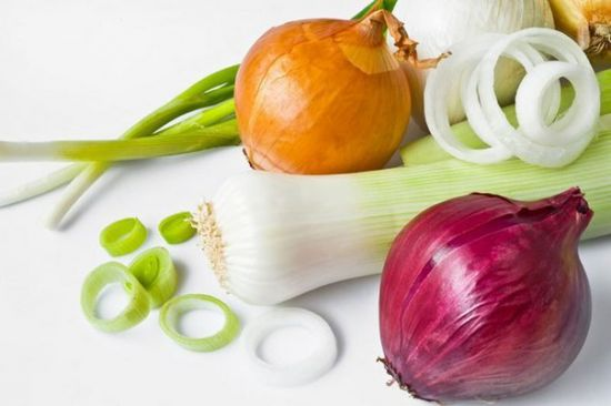 какие витамины в луке репчатом белом находятся