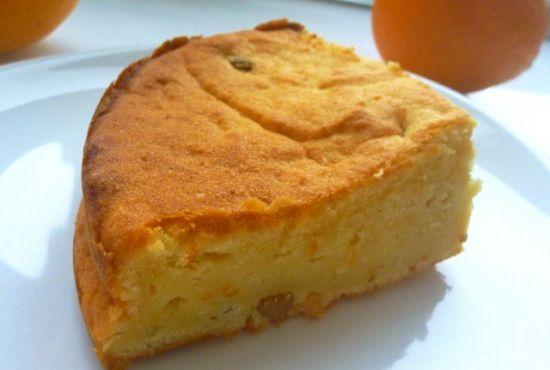 Пирог с грушей и сыром рикотта