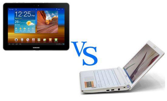 Что лучше нетбук или планшет с клавиатурой
