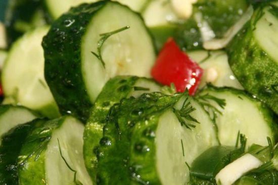 Рецепты кислых огурцов быстрого приготовления