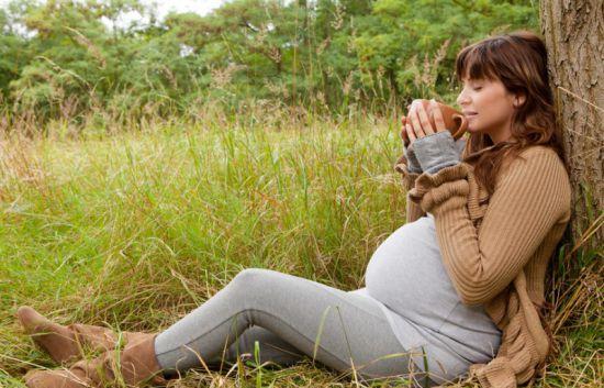 Беременная в лесу фото 99