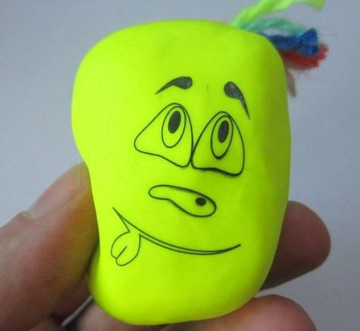 Антистресс игрушка своими руками из муки