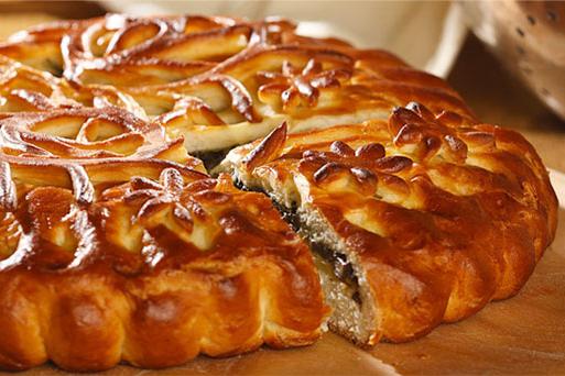Как сделать чтобы пирог блестел