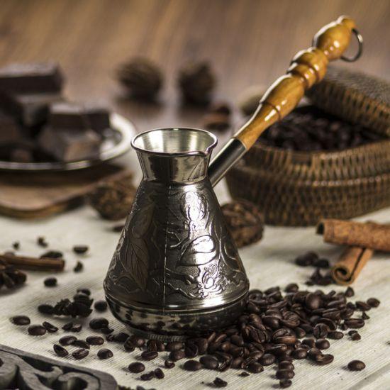 крепкий кофе в турке