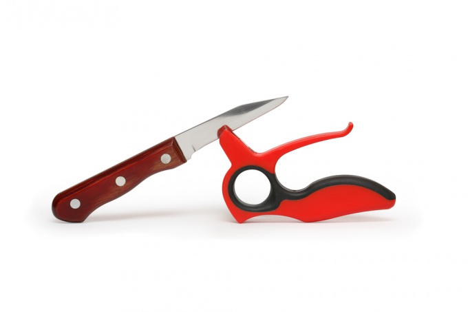 Как точить ножи