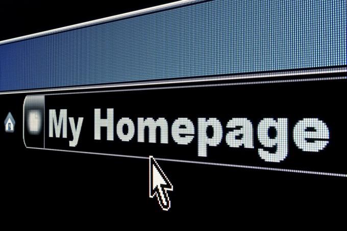 Как сделать стартовой страницу в интернете