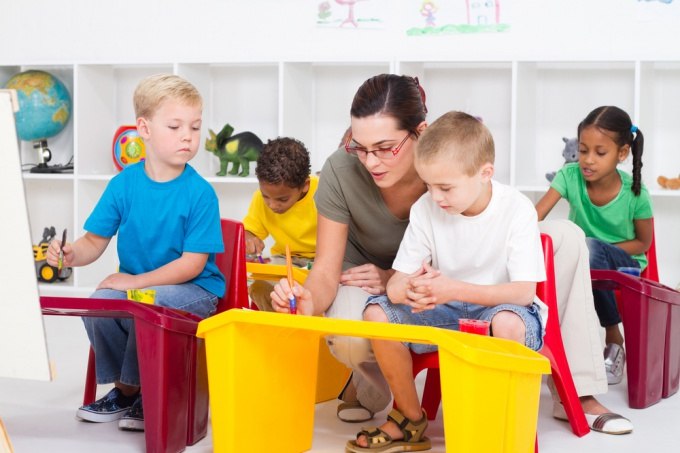 How to arrange child in kindergarten