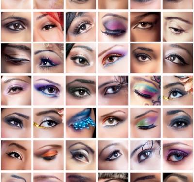 Как положительно красить глаза