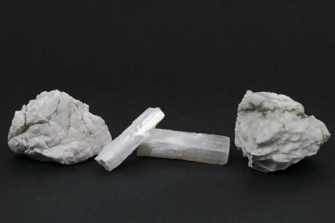 How to make gypsum