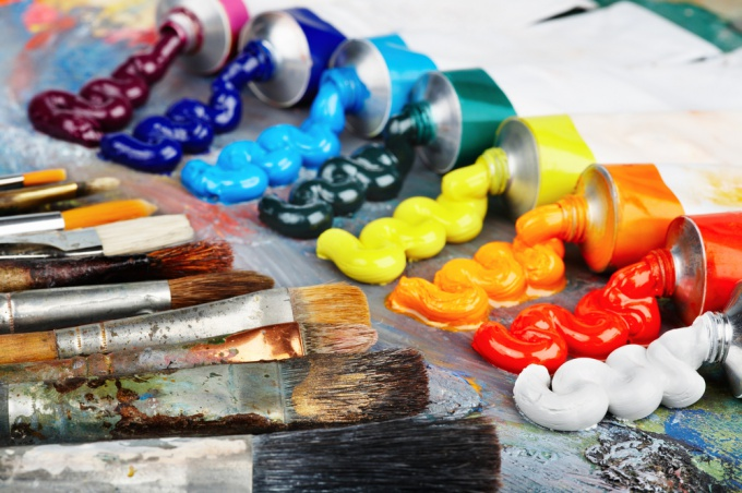 Как рисовать масляными красками
