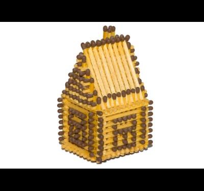 Как сделать церковь из спичек