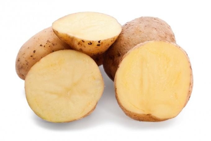 Как вернуть белый цвет потемневшему картофелю