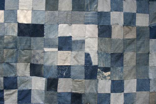 Как сделать одеяло из денима