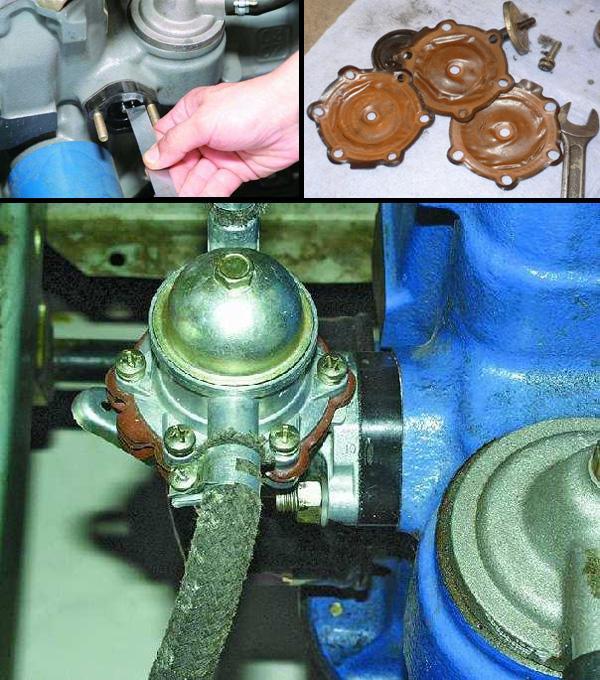 Как отремонтировать топливный насос