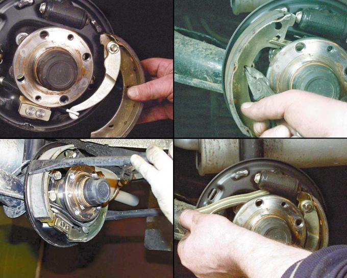 Как поменять задние тормозные колодки на ВАЗ