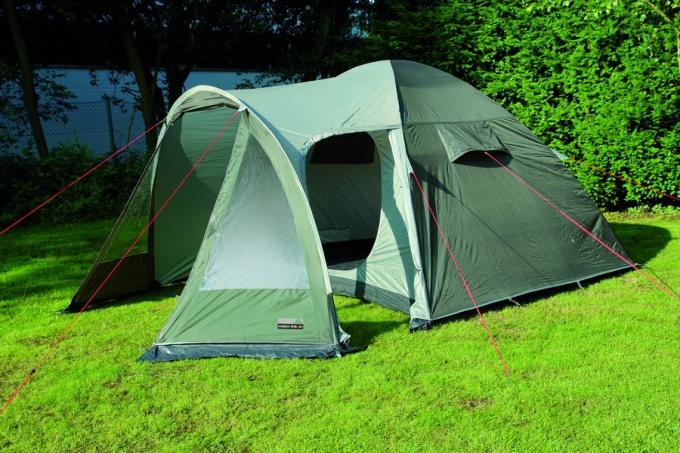 Как свернуть китайскую палатку