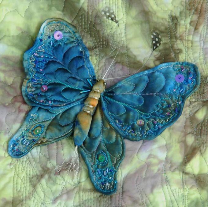 Как сделать бабочку из проволоки