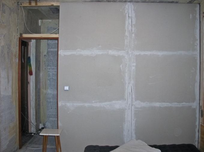 Как зашить стены гипсокартоном
