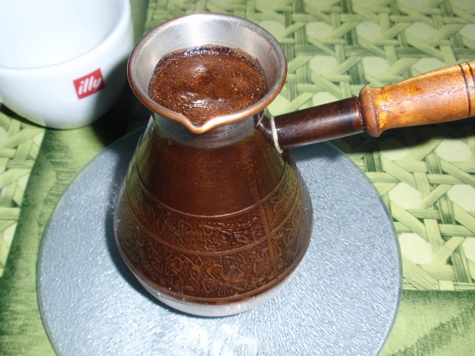Как варить кофе по-турецки
