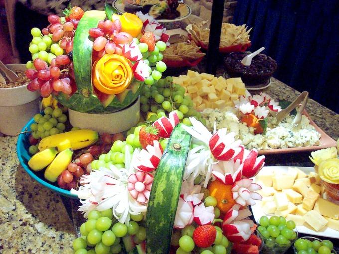 Как украсить блюда из овощей