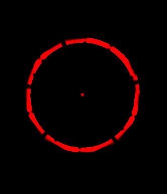 Как обнаружить длину вписанной окружности