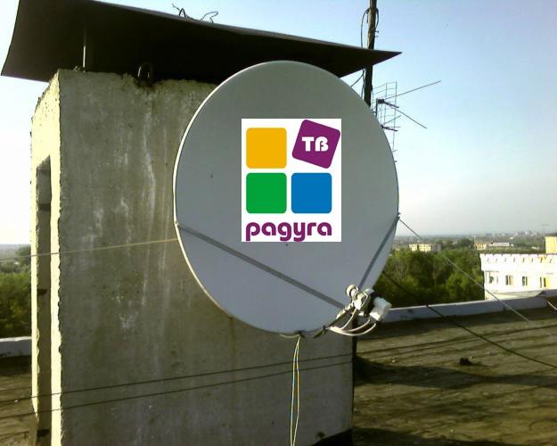 How to set satellite dish rainbow