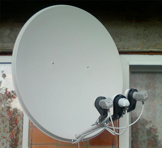 Как настроить спутник Amos