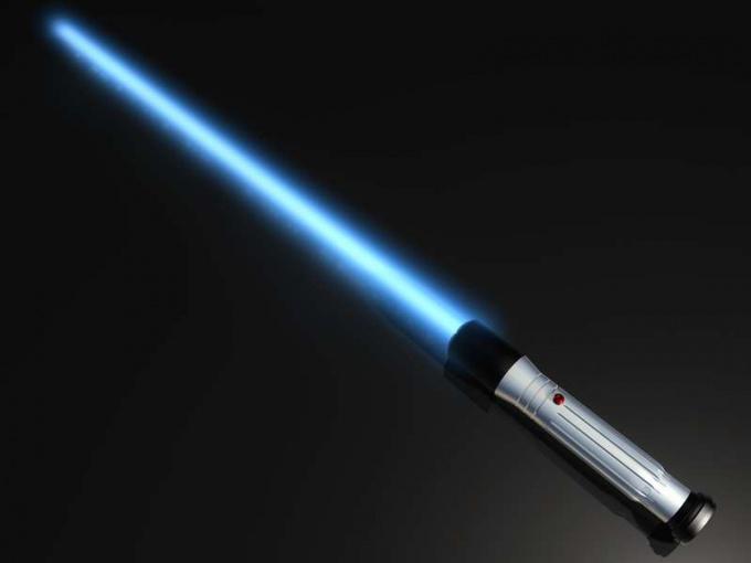 Как нарисовать световой меч