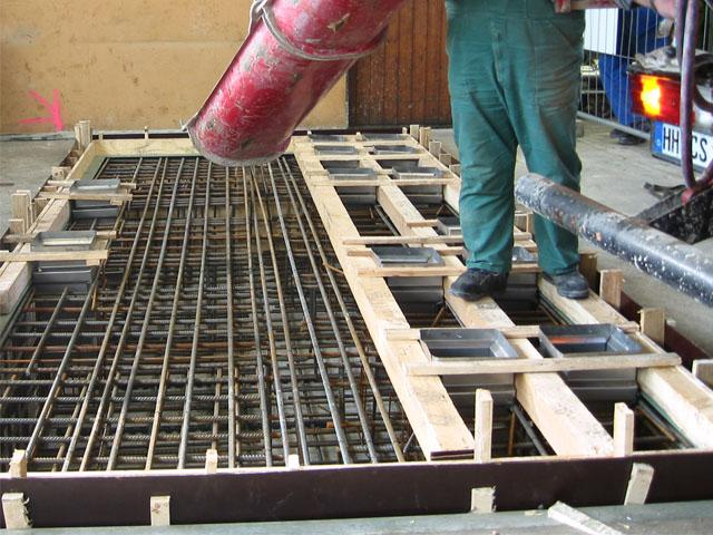 Как сделать бетонное перекрытие