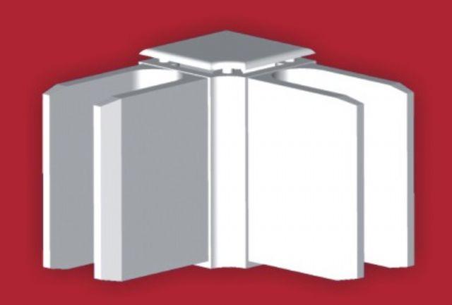 How to glue plastic corners