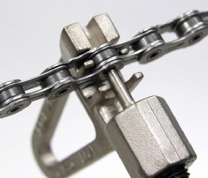 How to shorten a bike chain