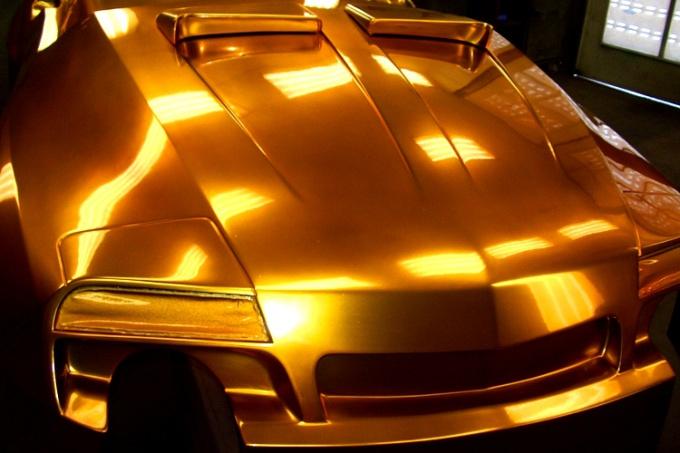 Как покрасить автомобиль металликом