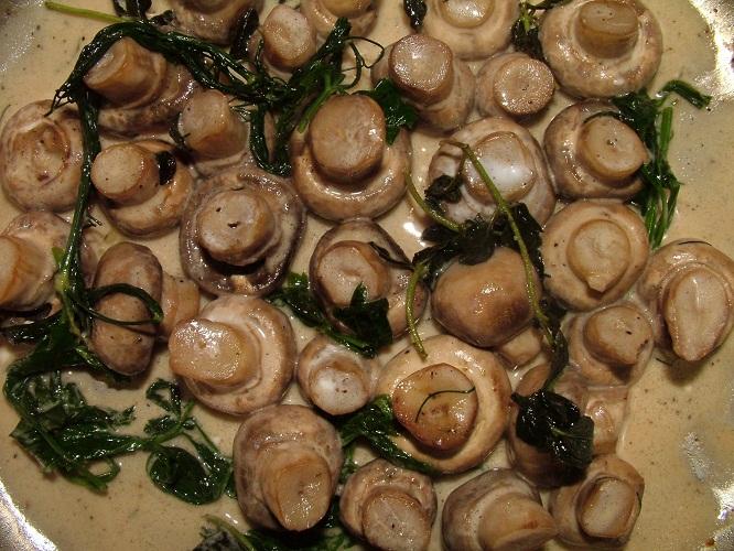 Как готовить консервированные шампиньоны