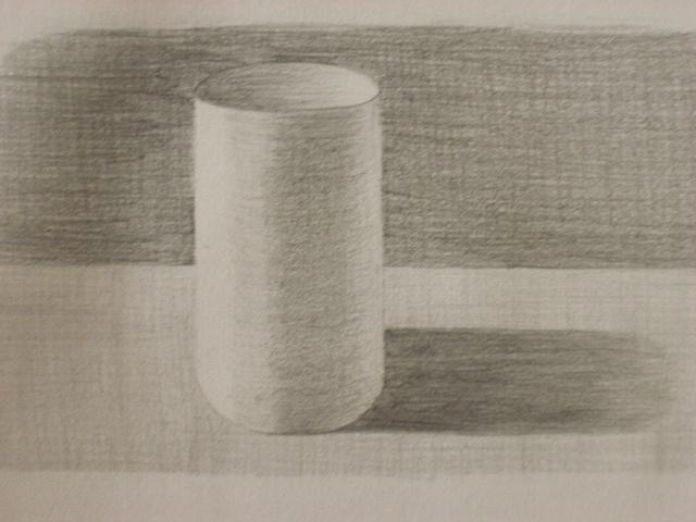 Как рисовать цилиндр