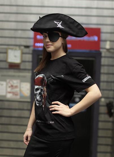 Как сделать пиратскую повязку