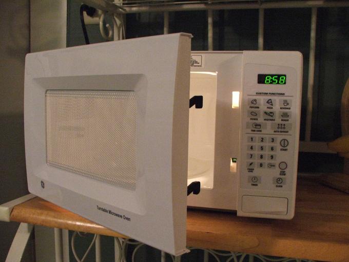 Как помыть микроволновую печь