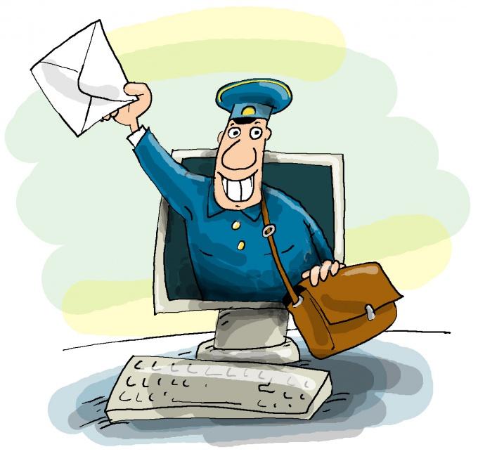 Как отправить почту на электронный адрес