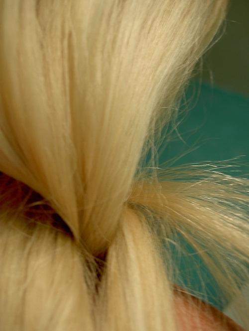 Как можно заплести волосы средней длины самой себе - 82f72