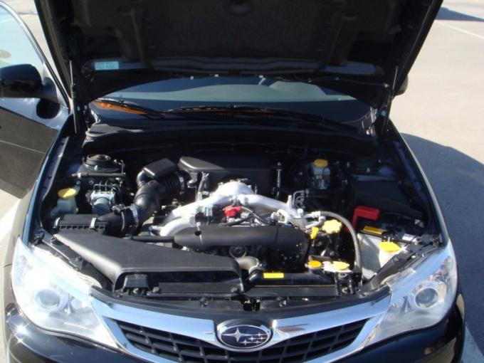 Как заменить свечи у Subaru