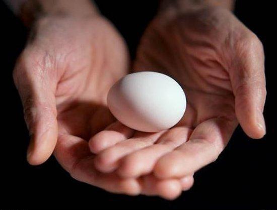 Как отличить вареное яйцо