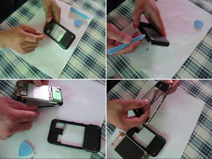 Как сделать стекло для телефон 703