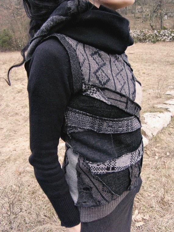 Как исправить свитер
