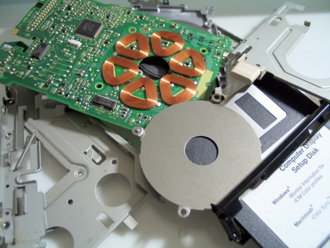 How to change a drive on a laptop
