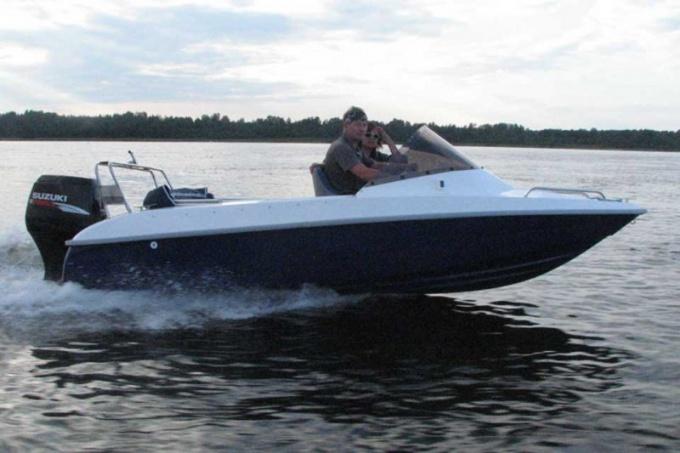 Как построить моторную лодку
