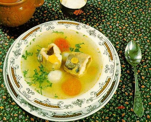 How to cook soup from sterlet