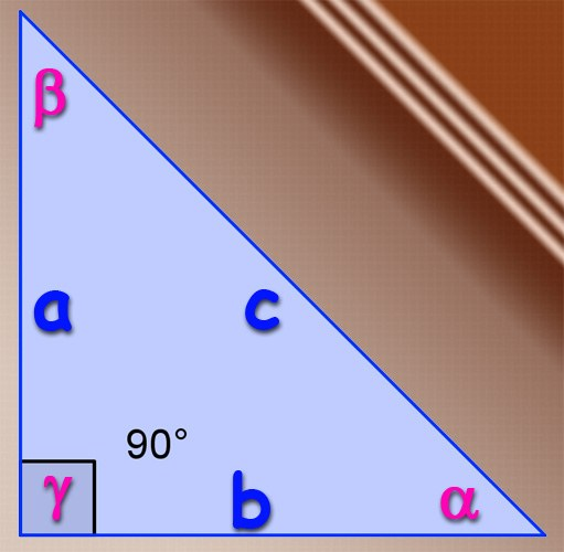 How to find the sine of the angle sides of the triangle
